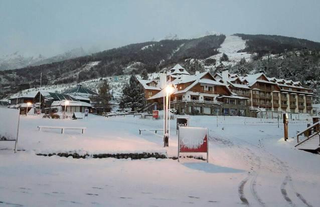 Cerro Catedral ha tenido que provocar la caída controlada de la nieve