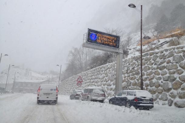 La Policía andorrana está llevando a cabo una campaña informativa, sobre todo a los turistas