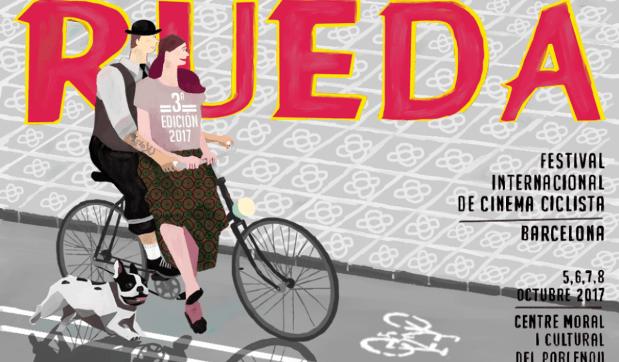 Rueda Festival Internacional Cinema Ciclista de Barcelona celebra su tercera edición en el Poble Nou de la ciudad Condal