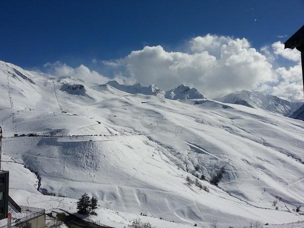 La ubicación norte de Peyragudes le permite tener nieve de calidad y en cantidad