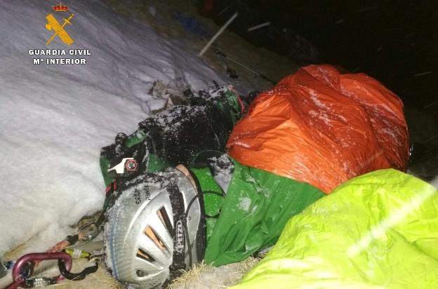 El montañero se encontraba cerca del ibón de Tebarray (Sallent de Gállego)