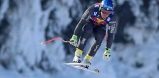 Valentin Giraud-Moine ha superado una lesión muy grave y ayer volvió a calzarse unos esquís en Tignes