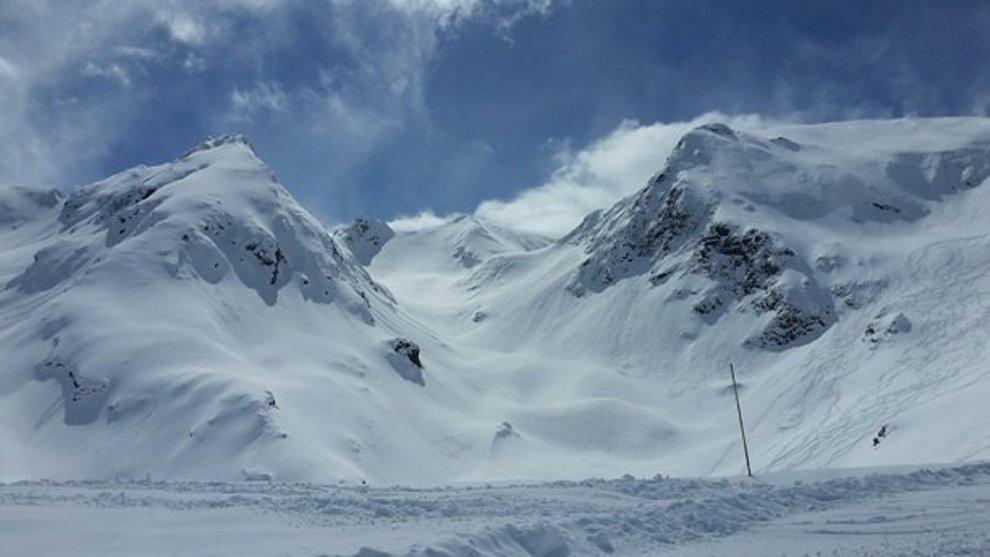 Los centros invernales de valle de Aure y Val Louron, como se aprecia en Peyragudes, mantienen grandes cantidades de nieve hasta la primavera