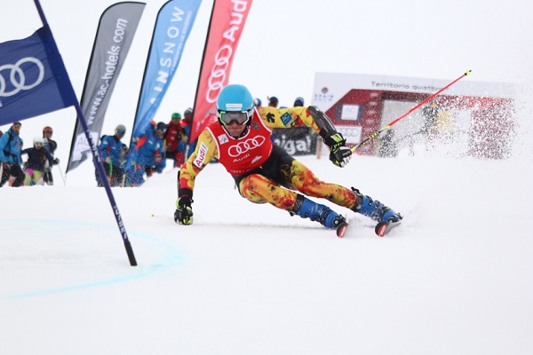Alex Puente fue el más rápido en el slalom del miércoles