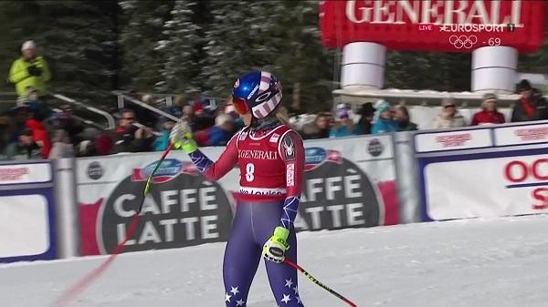 Mikaela Shiffrin ganó el pasado sábado su primer descenso de la Copa del Mundo. A la cuarta participación