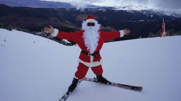 Papá Noel llegará con esquís