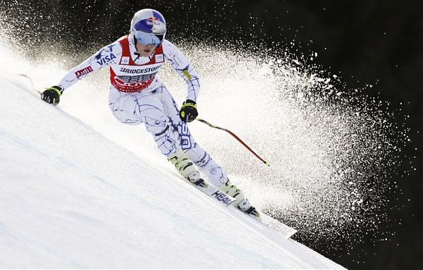 Vonn ha esquiado muy agresiva para lograr su 79 victoria en la Copa del Mundo y la duodécima en Cortina d'Ampezzo
