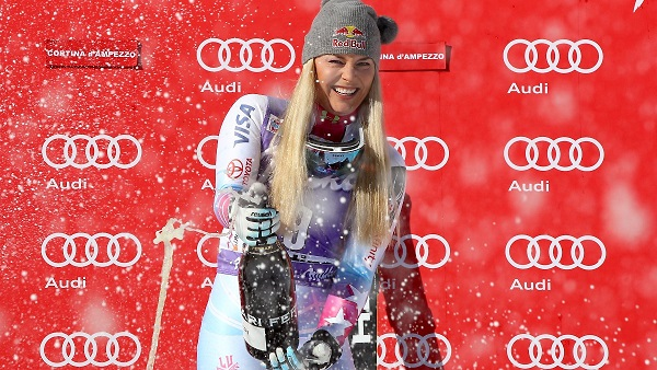 Lindsey Vonn será junto a Mikaela Shiffrin la líder del equipo de alpino de Estados Unidos en Pyeongchang