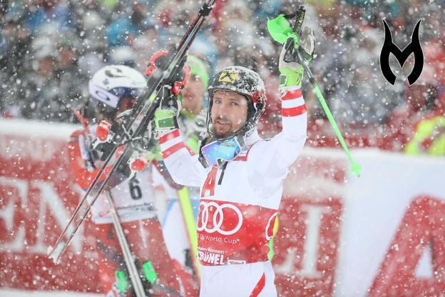 Marcel Hischer podría igualar los 54 triunfos de su compatriota Hermann Maier en el slalom nocturno de Schladming