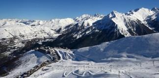 Saint Lary es la estación más conocida de Pyrénées 2 Vallées, integrado tambie´n Por Peyragudes, Piau-Engaly y Val Louron FOTO: @les_pyrenees
