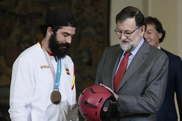 Regino Hernández conversó con el presidente del Gobierno