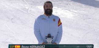 Regino Hernández, medalla de bronce en PyeongChang