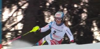 La prometedora suiza Melanie Meillard, de 19 años, se ha lesionado de gravedad la rodilla izquierda mientras entrenaba el gigante
