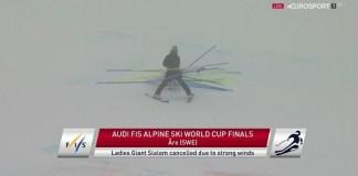 Las malas condiciones climatológicas han obligado a cancelar la última jornada de las finales de la Copa del Mundo en Are