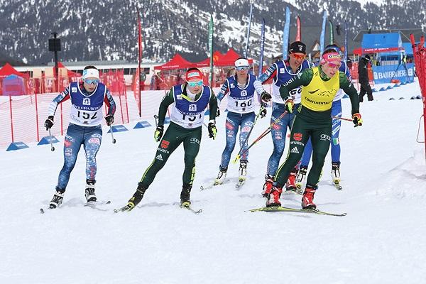 La alemana Anne Winkler ha sido la vencedora del sprint femenino FOTO TUR