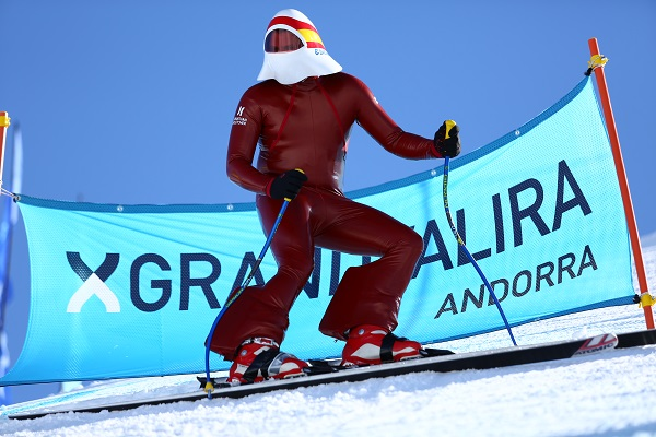 Eduard Manrique hace siete años que compite en Kilómetro Lanzado y estará en Grandvalira el primer fin de semana de abril