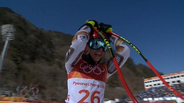 Ester ledecka dio la campanada ganando el oro en el super G de Pyeongchang y arrebatándoselo a Anna Veith por una mísera centésima