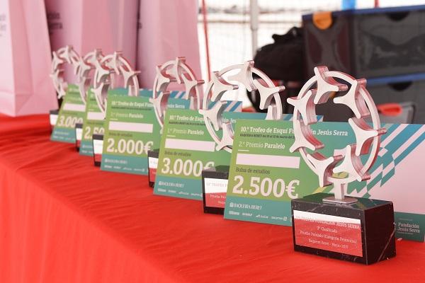 Los premios del Trofeo Jesús Serra se dedican a bolsas de estudio. FOTO: Fototur