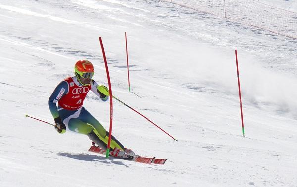 Quim Salarich ha revalidado hoy su título de campeón de España de slalom FOTO: Alejandro Molina-FADI