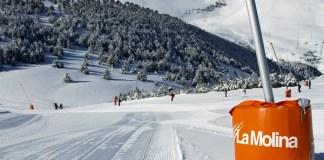 La Molina fue unos de los escenarios de la candidatura Pirineus-Barcelona evaluados por el COI