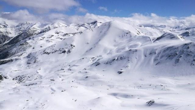 Boí Taüll desde la cima del Cerví de Durro