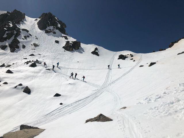 Mesina asegura la importancia de aprender el deporte con un guía de montaña