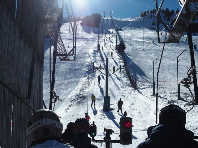La estación de La Cerdanya ha acogido a algo más de medio millón de esquiadores FOTO: Masella