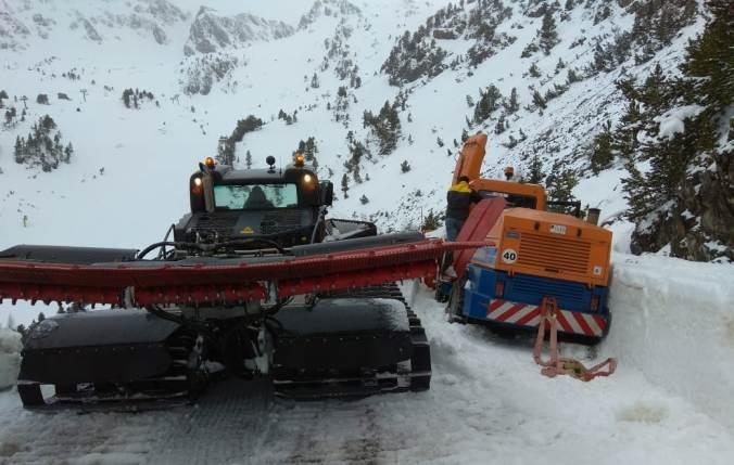 El COEX bate récords de consumo de sal y de kilómetros de las quitanieves durante este invierno