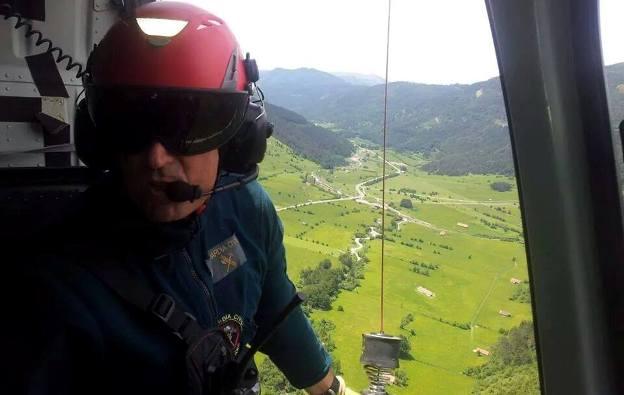 Imagen del guardia civil Valero