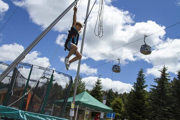 La Molina, un destino ideal para las familias en verano FOTO: FGC