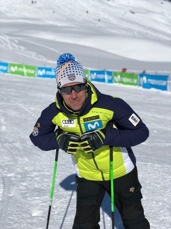 La trayectoria de May Peus siempre ha estado ligada al esquí FOTO: RFEDI Spainsnow