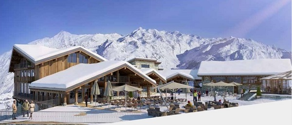 Val d'Isère estrenará este invierno un refugio de alto standing. FOTO: Lerefuge-valdisere.com