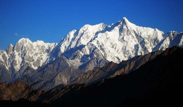 Una imagen de la montaña Ultar Sar