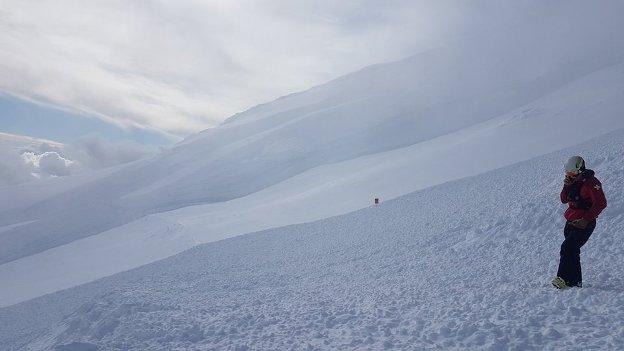 El riesgo de aludes en Turoa es muy alto a partir de 1.800 metros