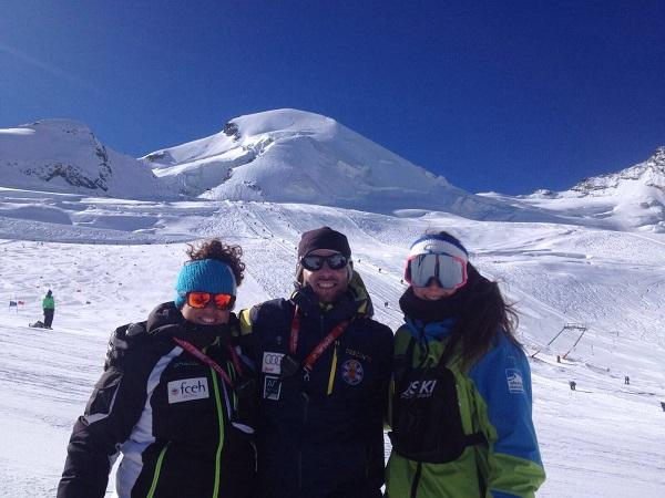 Las becas Mujer y Nieve 2018, una ayuda para las universitarias deportistas. FOTO: RFEDI Spainsnow