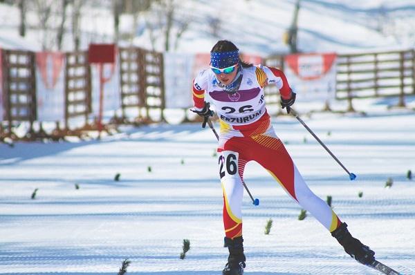 A sus 19 años, Alba Puigdefabregas quiere labrarse un brillante porvenir en el esquí nórdico. FOTO: RFEDI Spainsnow