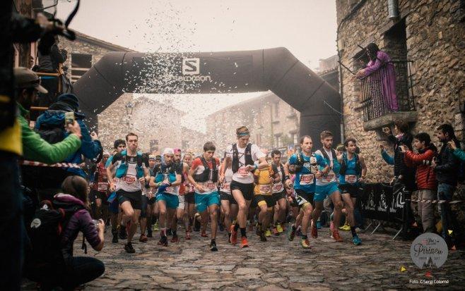 La Ultra Pirineu alberga a más de tres mil atletas de 50 países