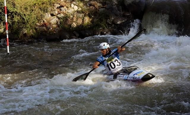 La medallista olímpica Maialen Chourraut de la Real Federación Española de Piragüismo obtenía ayer medalla de plata