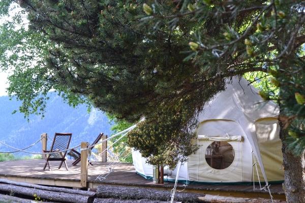 El espacio natural de la borda invita a un descanso de fin de semana