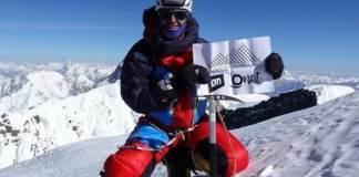 Mingote en la cima del K2 este verano