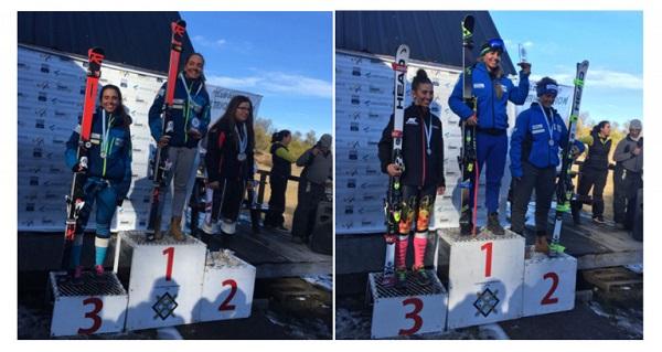 A lo largo de tres semanas, el equipo de alpino de la FCEH ha estado trabajando en Perito Moreno y logrando victorias y podios en pruebas FIS FOTO: FCEH