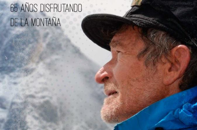 Carlos Soria ha escalado diez picos de más de 8000 metros después de cumplir los 60 años