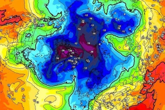 Las temperaturas serán muy gélidas el domingo y seguirá nevando