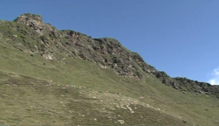 El hombre podría haberse caído de camino a la cima de Tristaina