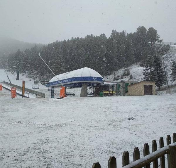 Por tercer año consecutivo Port del Comte abrirá sus pistas con unos grosores de nieve más que aceptables