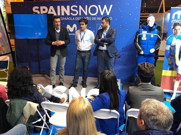 La RFEDI ha presentado hoy en Madrid la agencia de viajes Spainsnow Travel. FOTO: RFEDI Spainsnow