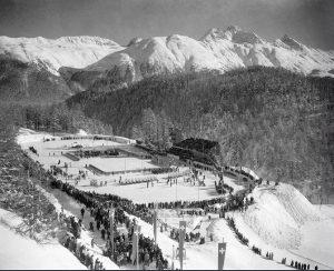St. Moritz acogió en 1948 la segunda edición de unos Juegos de Invierno.