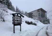 La nieve ha llegado a Candanchú
