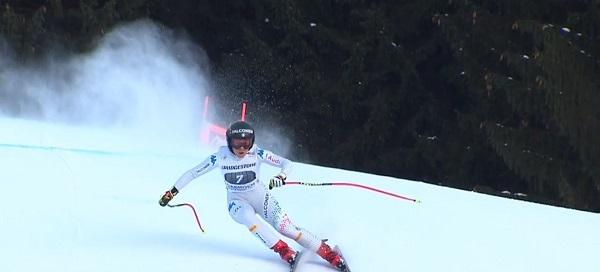 Sofia Goggia ha logrado su segundo podio consecutivo tras su reaparición ayer en el super G.