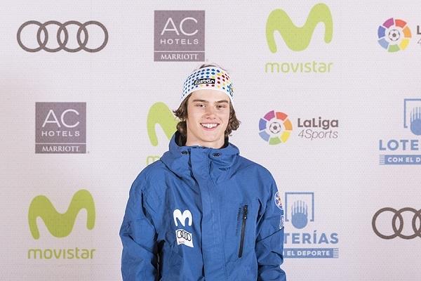 Magnin fue bronce en el último Mundial junior de Cardrona. FOTO: RFEDI
